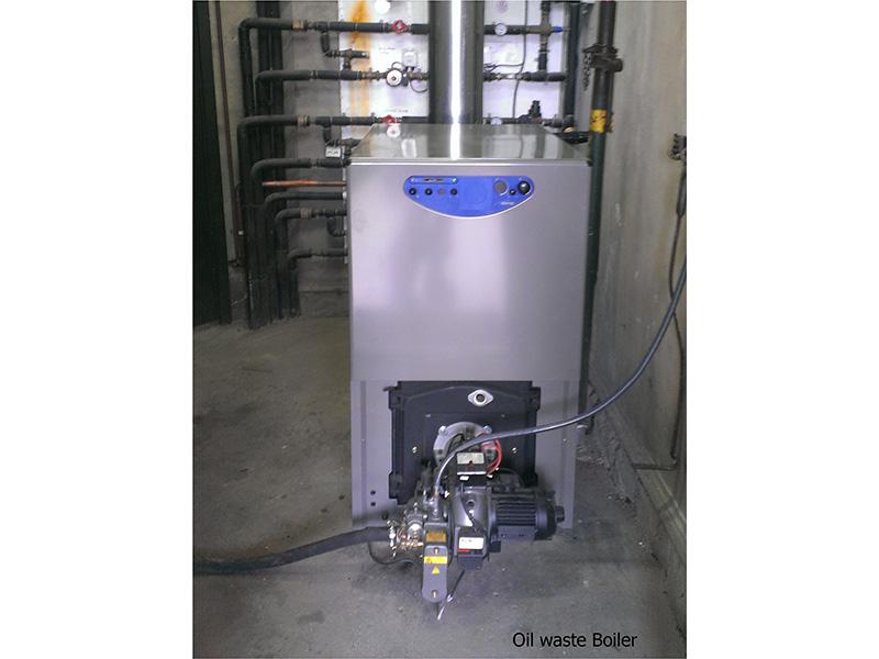 oil waste boiler